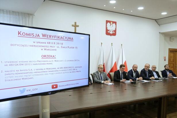 Komisja weryfikacyjna PAP/Wojciech Olkuśnik