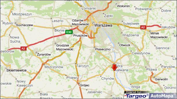 Wypadek w miejscowości Coniew targeo