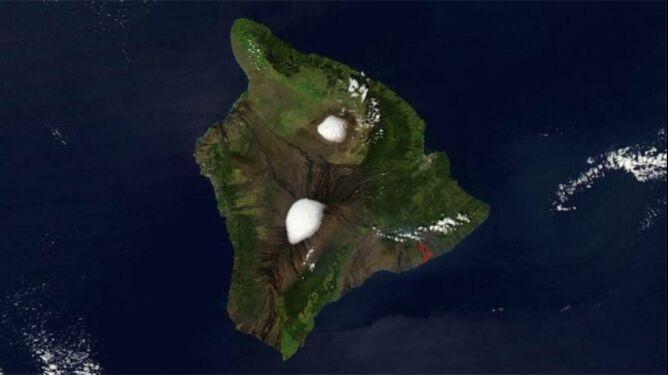 Śnieg spadł nawet na Hawajach