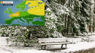 Jaka będzie zima w Europie? Przewidywania Amerykanów