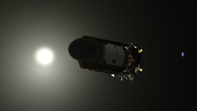 Teleskop, który szuka planet podobnych do Ziemi. Kończy mu się paliwo