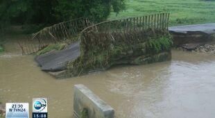 Powódź w rejonach województwa śląskiego
