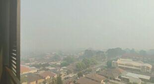 Gryzący dym spowija Sydney