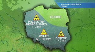 Warunki drogowe w środę 26.02